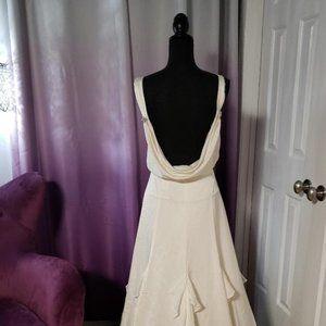 J Crew Ivory Old Hollywood/Gatsby Wedding Dress